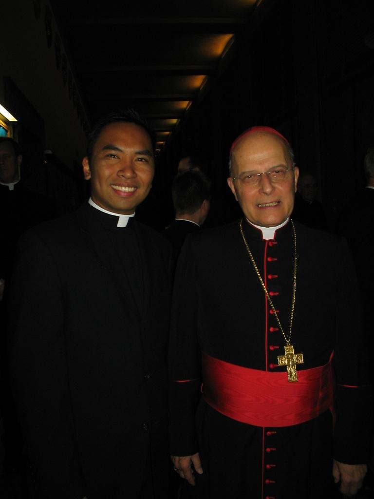 CardinalAndSeminarian